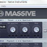 Native Instruments MASSIVE のお勉強