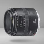 中古で買ったCanon マクロ MACRO EF 50mm F2.5 レンズ