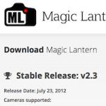 今頃だけど Magic Lantern 入れて RAW 動画を撮影してみる