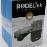 RODE RodeLink Wireless Filmmaker Kit を開封