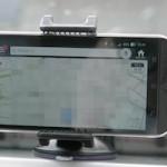 TaoTronics スマートフォン車載ホルダーでナビしてみる