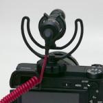 α6300にRODE VideoMicroを載せてみた