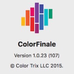 Color Grading Central Color Finale 買ってみた!