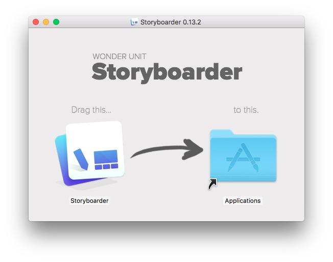 追記】無料の絵コンテ作成ソフトStoryboarderをインストールしてみた