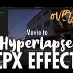 Final Cut Pro Xの有料プラグイン(?) PROWRITE 紹介&ストロボエフェクトで動画をタイムラプスにする