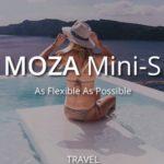 期待の新製品 MOZA Mini-S スマホ用スタビライザーが発売されたみたい